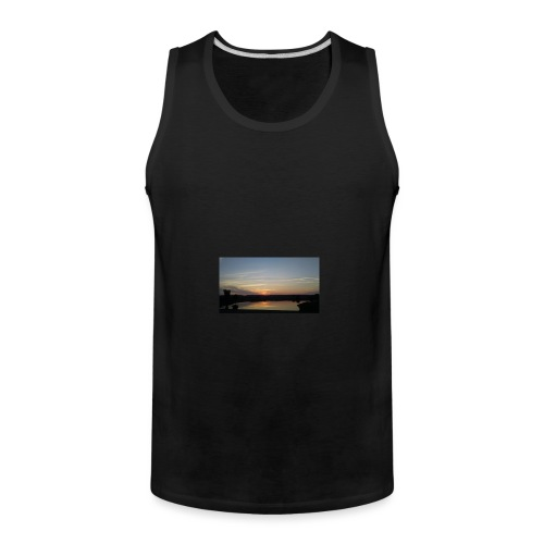 Sunset on the Water - Men's Premium Tank