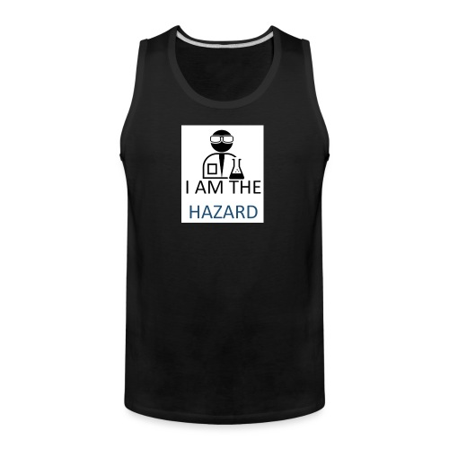 tshirt hazard design1 1 - Men's Premium Tank