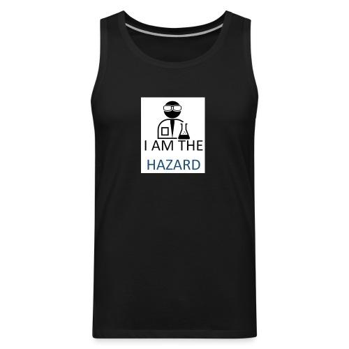 tshirt hazard design1 1 - Men's Premium Tank