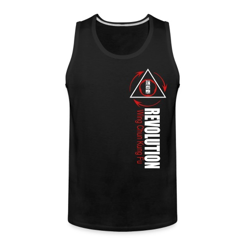 2 color Rev Front T - Men's Premium Tank