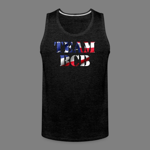 team bcb flag - Men's Premium Tank
