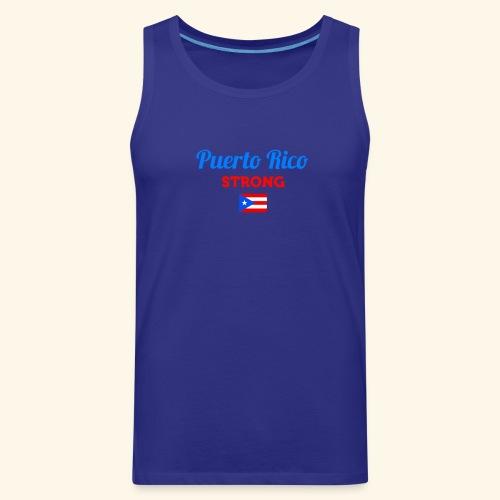 Puerto Rico always STRONG - Men's Premium Tank