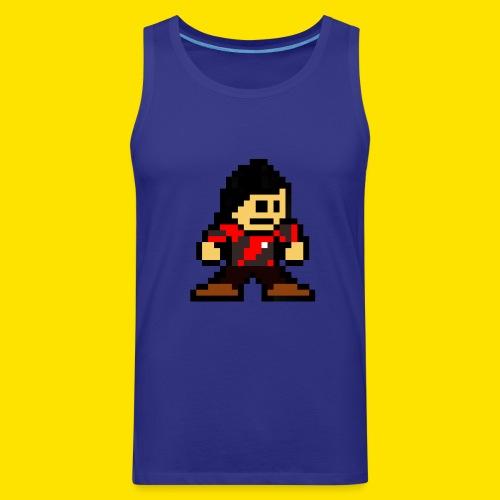 Kuna Mega Man Logo Unisex Tie-Die - Men's Premium Tank