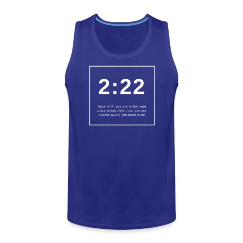 Angel Number 2:22 - Men's Premium Tank