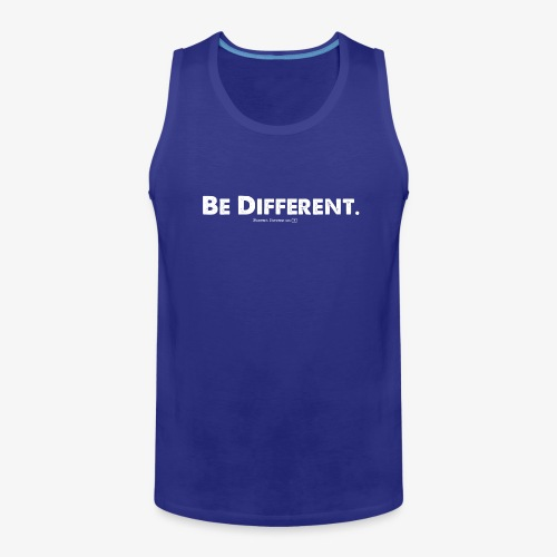 Be Different // Forrest Stevens Official merch. - Men's Premium Tank