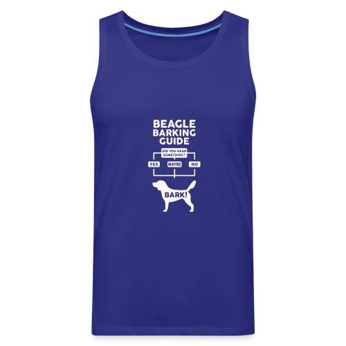 Beagle Dog T Shirt funny - Men's Premium Tank