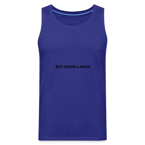 Eat.Drink.Lagos Logo Shirt - Men's Premium Tank