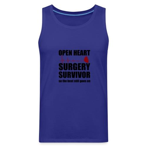 openheart surgery - Men's Premium Tank