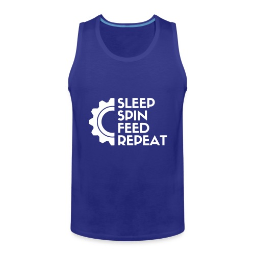 SLEEP SPIN FEED REPEAT One - Men's Premium Tank