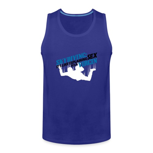 Skydiving - Men's Premium Tank