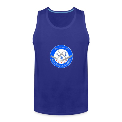 Successful Barber Seal - Men's Premium Tank