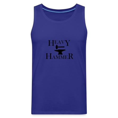 Heavy Hammer Bold - Black - Men's Premium Tank
