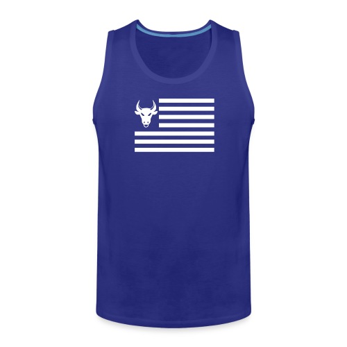 PivotBoss Flag White - Men's Premium Tank