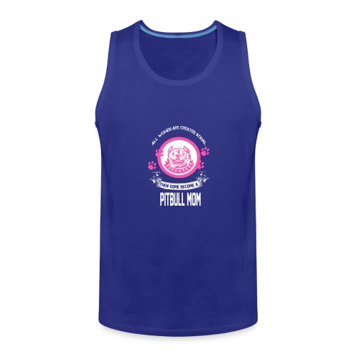 pitbullmom - Men's Premium Tank