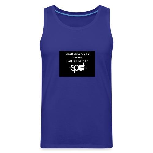SpotTshirtBlack - Men's Premium Tank