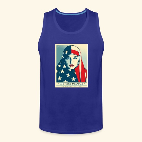 We the people are greater than fear - Men's Premium Tank