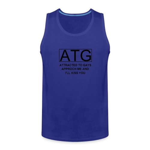 ATG Attracted to gays - Men's Premium Tank