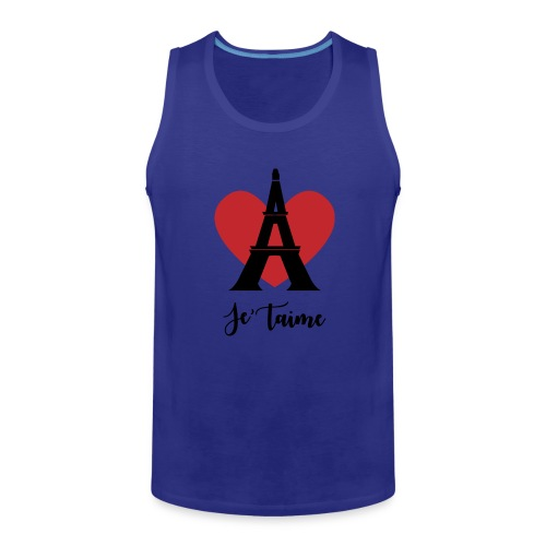 Je'taime Paris - Men's Premium Tank