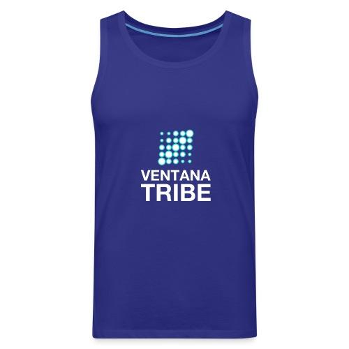 Ventana Tribe White Logo - Men's Premium Tank