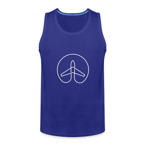 She Wanders the Globe - Men - Men's Premium Tank
