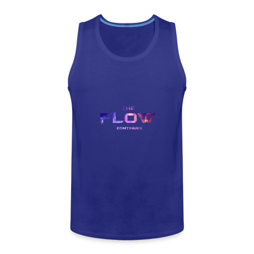 The Flow Continues Merchandise - Men's Premium Tank