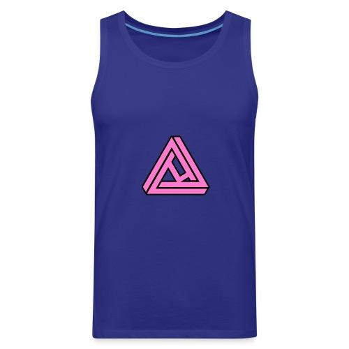 Breast Cancer Awareness Logo - Men's Premium Tank