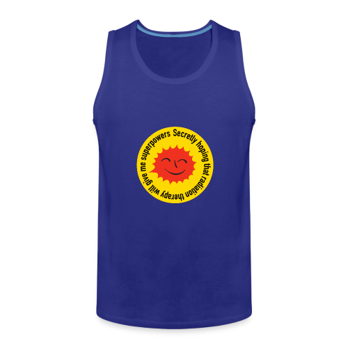 Radiation Superpowers - Men's Premium Tank