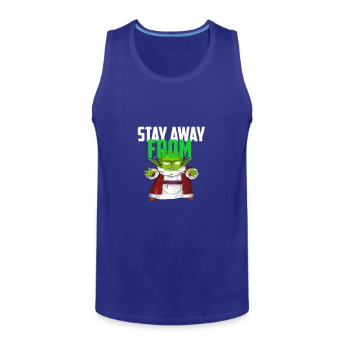 Stay Away From My D! - Men's Premium Tank