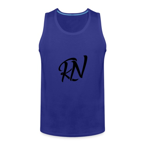 RomanNation Black (RN) - Men's Premium Tank