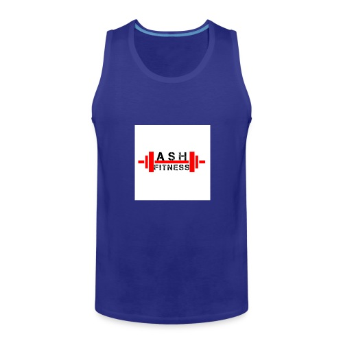 ASH FITNESS MUSCLE ACCESSORIES - Men's Premium Tank