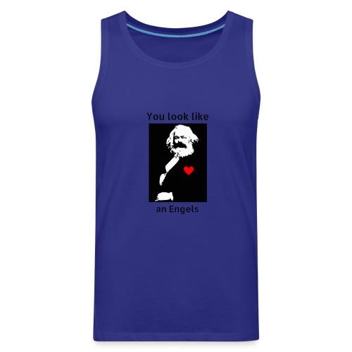 Marx_love_Shirt - Men's Premium Tank
