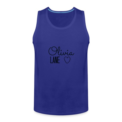 Olivia Lane Heart - Men's Premium Tank