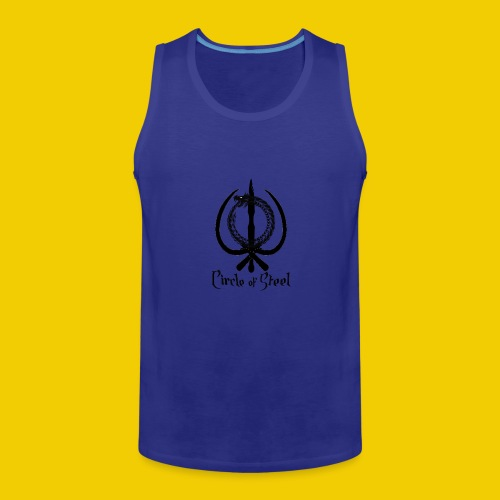 circle_of_steel_logo21 - Men's Premium Tank