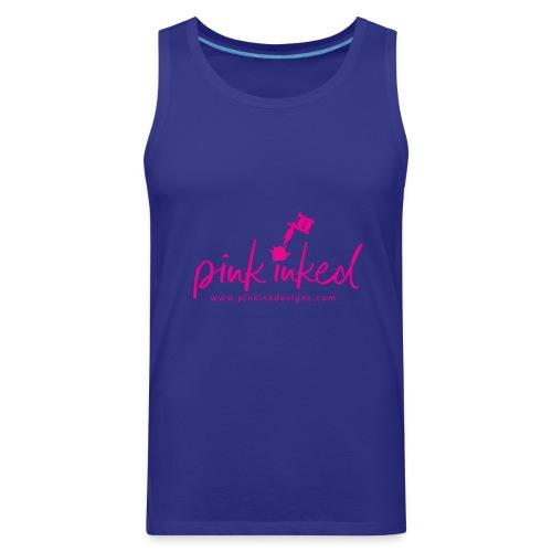 Pink_Inked - Men's Premium Tank