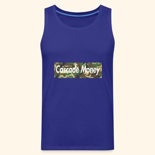Cascade money camo - Men's Premium Tank