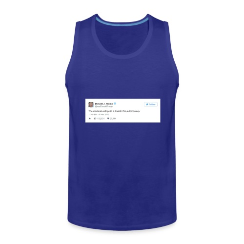 Occasionally, He Tells the Truth - Men's Premium Tank