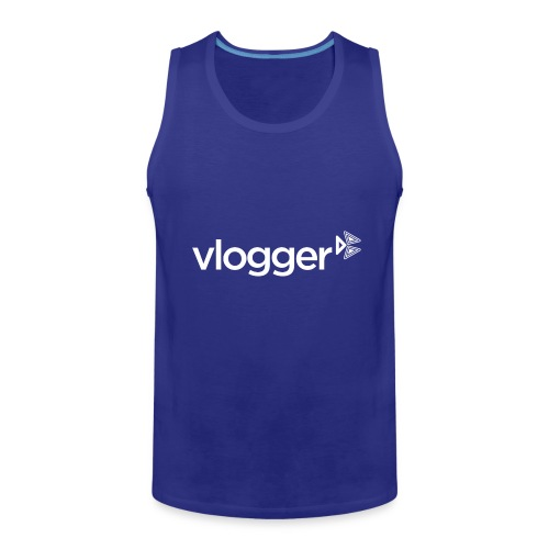 Vlogger T-Shirt - Men's Premium Tank