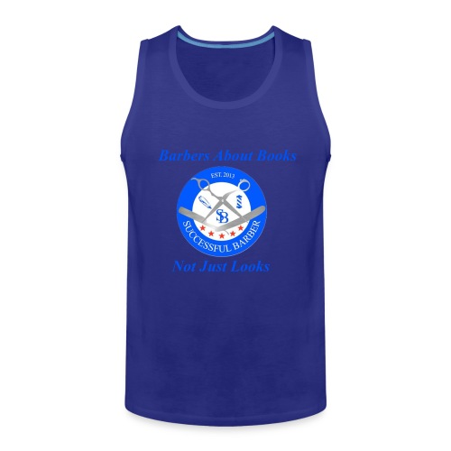 Barbershop Books - Men's Premium Tank