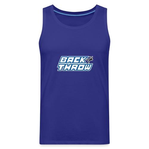 Back Throw Logo - Men's Premium Tank