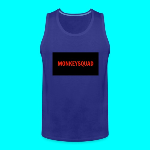 MonkeySquad logo - Men's Premium Tank