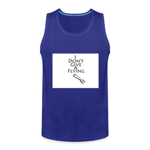 I Don't Give A Flying Fork - Men's Premium Tank