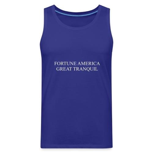 Fortune America Great Tranquil - Men's Premium Tank