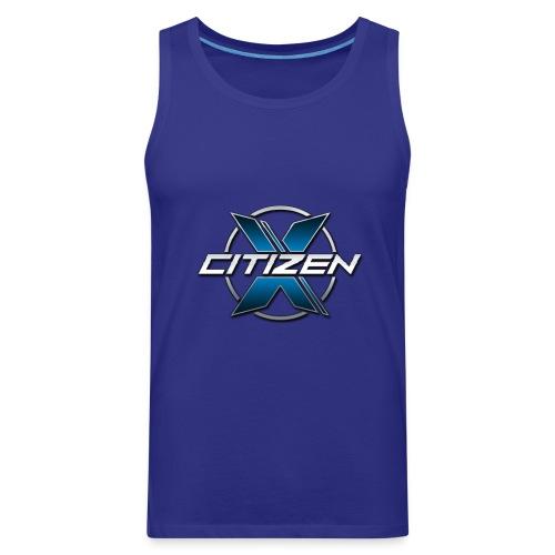 CitizenX Team Logo - Men's Premium Tank