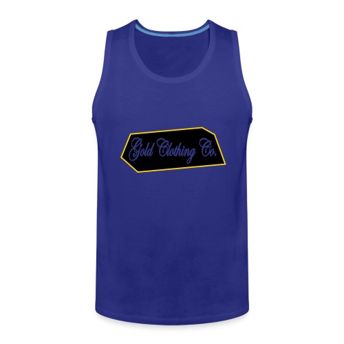 GOLD Clothing Co. Brick Logo - Men's Premium Tank