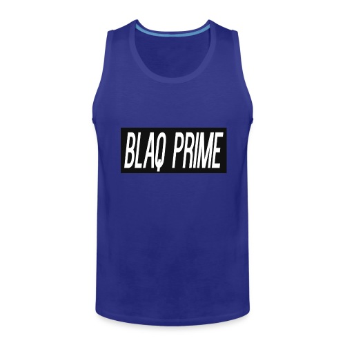 Blaq Prime Box Logo - Men's Premium Tank