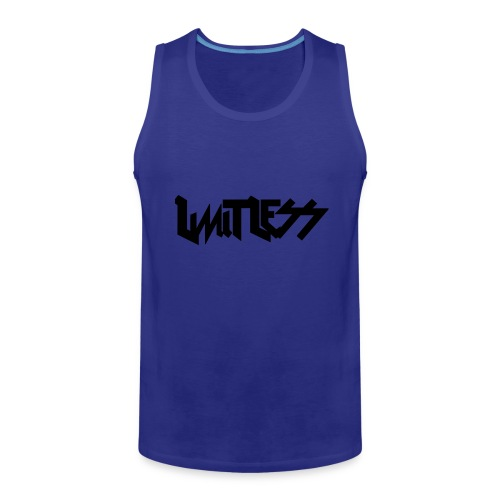 limitlesslogo tour inspired - Men's Premium Tank