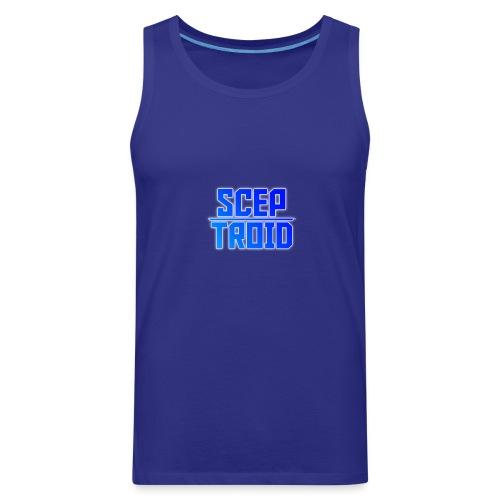 ScepTroid T-shirt! - Men's Premium Tank
