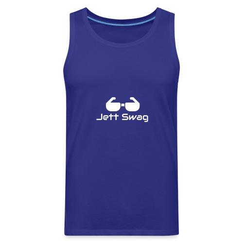 Jett Swag Sun Glasses White - Men's Premium Tank
