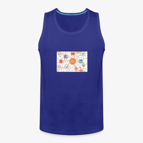 social media marketing - Men's Premium Tank