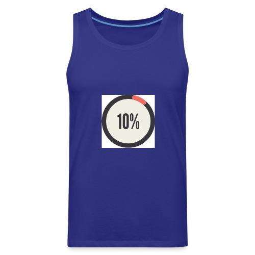 10% Album - Men's Premium Tank
